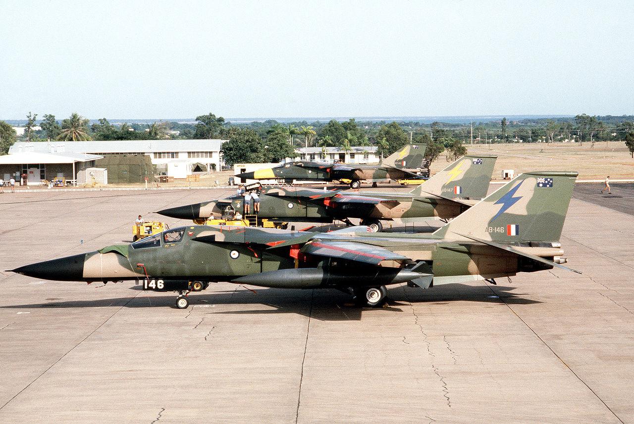 Red Kangaroo on F-111C   Weapons and Warfare