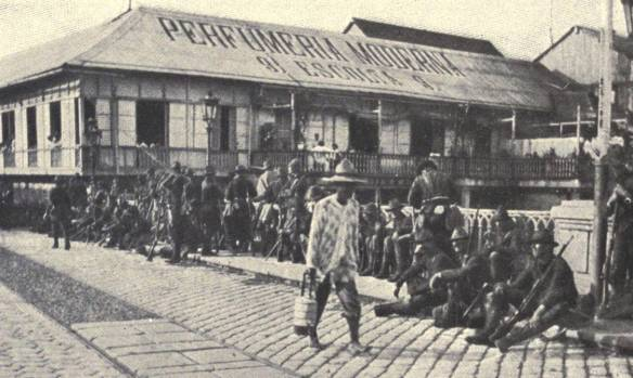 Americans_guarding_Pasig_River_bridge,_1898