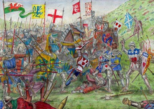Battle of Homildon Hill 1402 part three 730