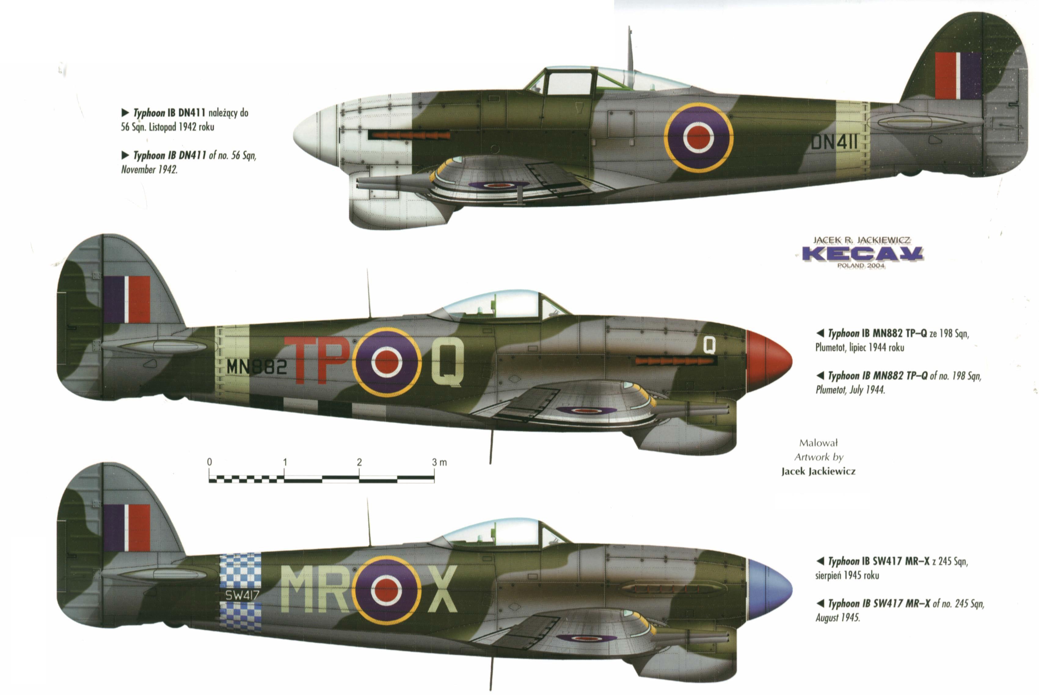 Hawker Typhoon Weapons And Warfare