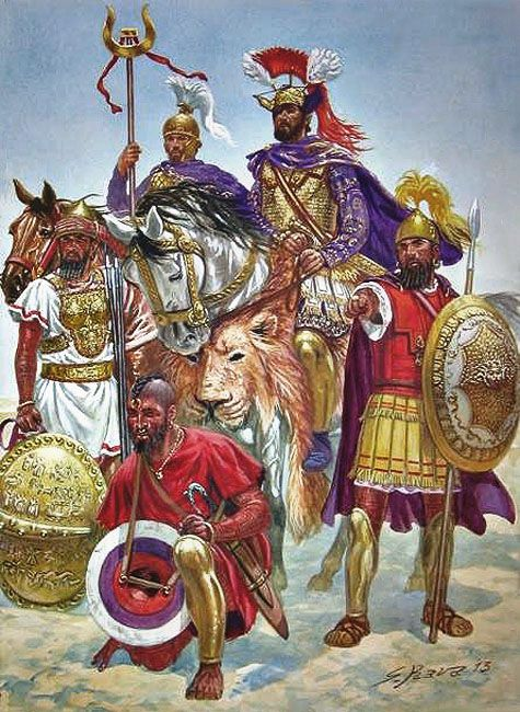 CARTHAGINIAN ARMIES | Weapons and Warfare