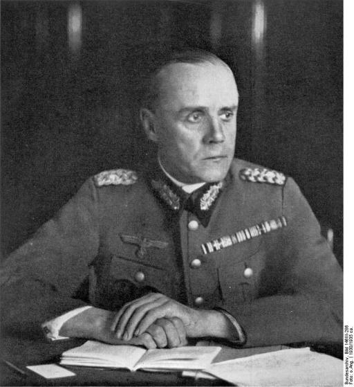 Image result for photo of colonel ludwig beck