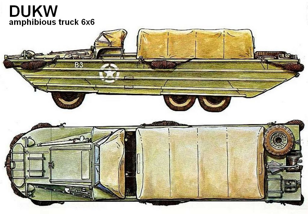 dukw weapons and warfare
