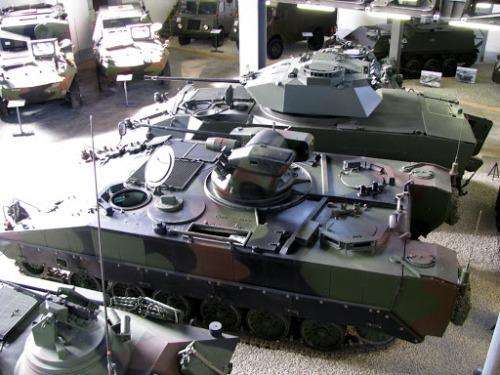Schützenpanzer MOWAG TROJAN