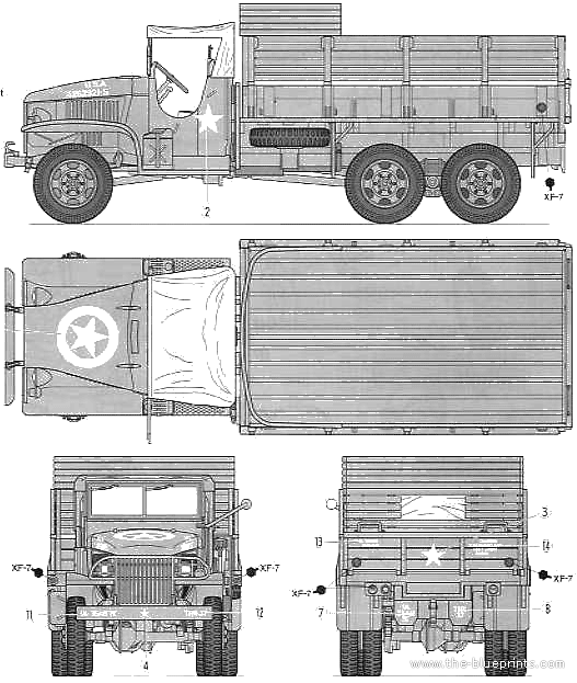gmc-cckw-353-25-ton-6x6