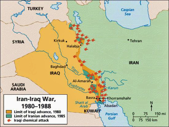 Iran iraq war ii weapons and warfare if anything the world looked upon the iran iraq war with some relief iraqs close ally the soviet union was distressed with iraqi expansionist moves but gumiabroncs Images