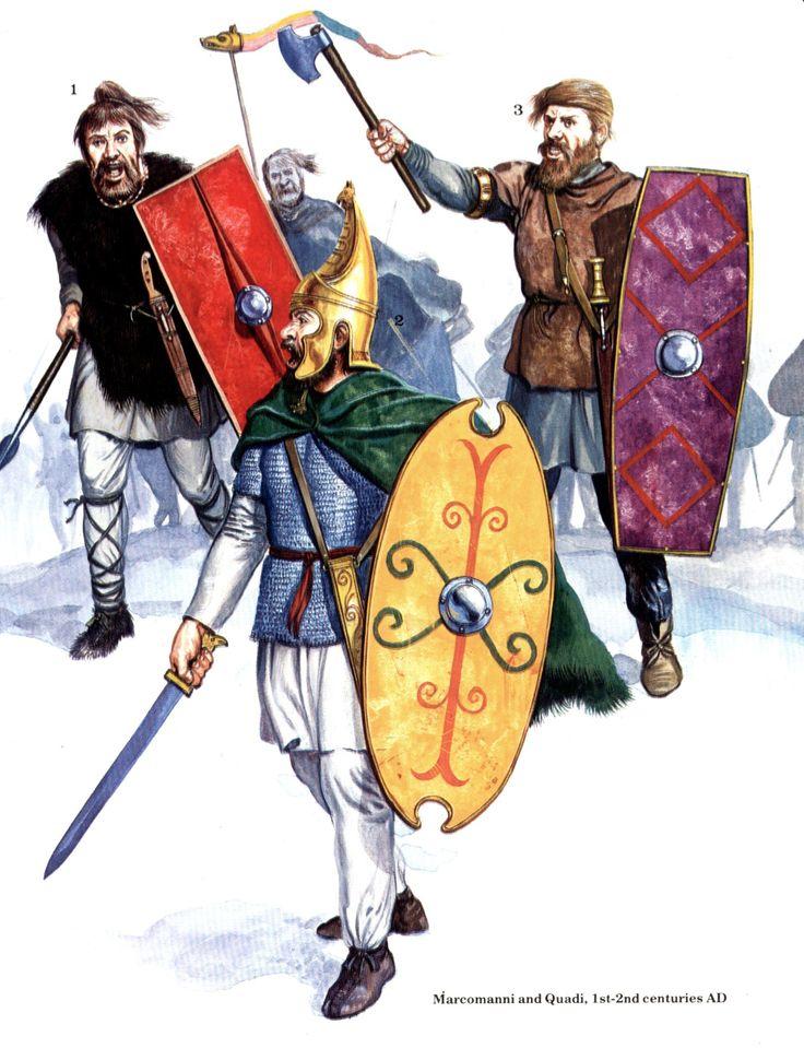 Germanic Warrior The Marcomannic Wars |...
