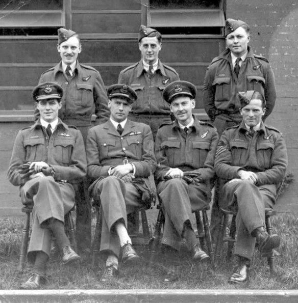 8 Nettleton's Augsburg crew 1942