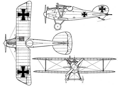 Albatros-DVa-3-view