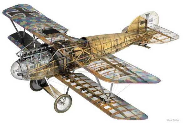 Albatros-DVa-mm-cutaway