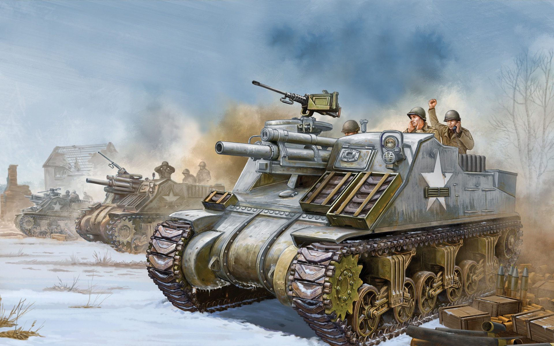 US WWII SELF-PROPELLED ARTILLERY | Weapons and Warfare