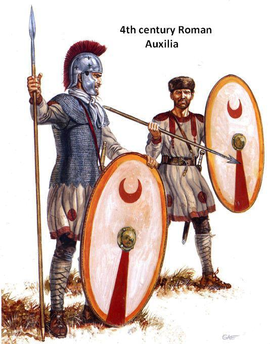 late roman armor weapons and warfare
