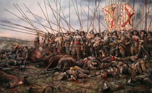 Batalla_de_rocroi_por_Augusto_Ferrer-Dalmau