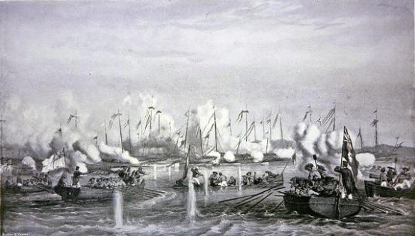 Battle_of_Fatshan_Creek,_a_Royal_Navy_vs_Chinese_war_junks