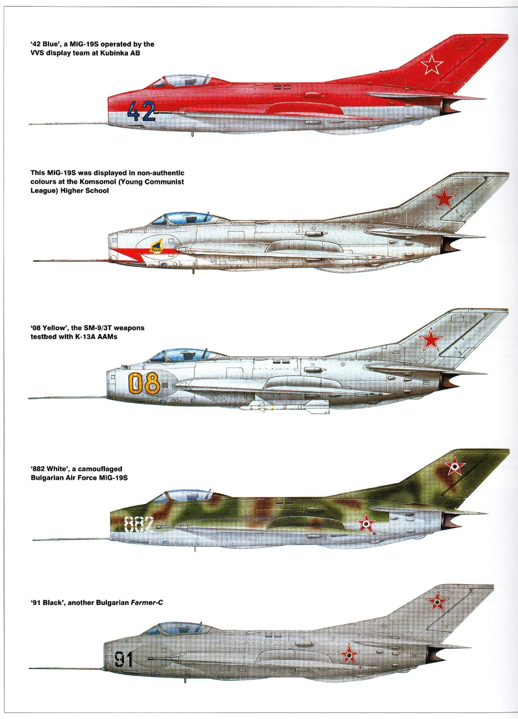 MiG-19   Weapons...B 52s