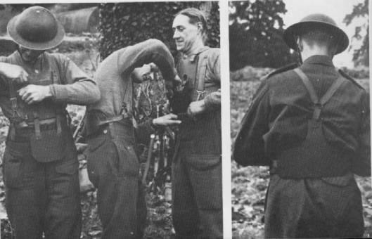 WWII British Army Body Armour