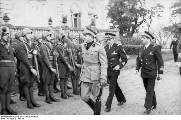 Frankreich, Italienische Offiziere und Soldaten