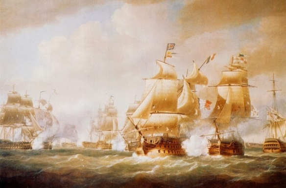 Duckworth's_Action_off_San_Domingo,_6_February_1806
