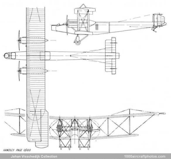 Handley Page H.P.11 O-100_3-view
