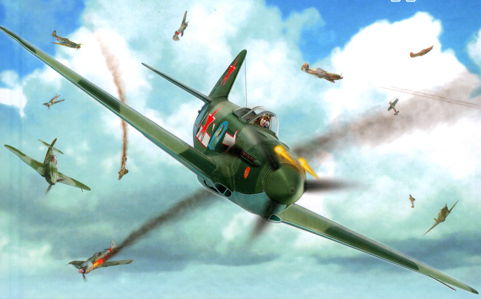 Yakovlev Yak 3 F...B 52s