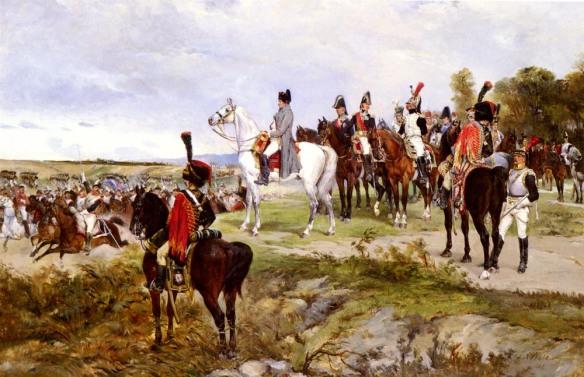 Walker_James_Alexander_Napoleon_Watching_The_Battle_Of_Friedland_1807