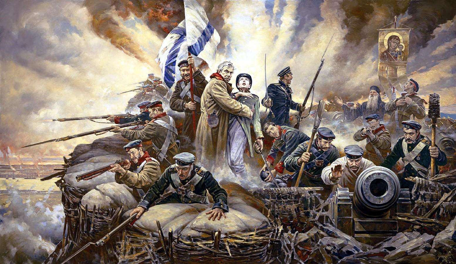 Resultado de imagen para russians in crimea war