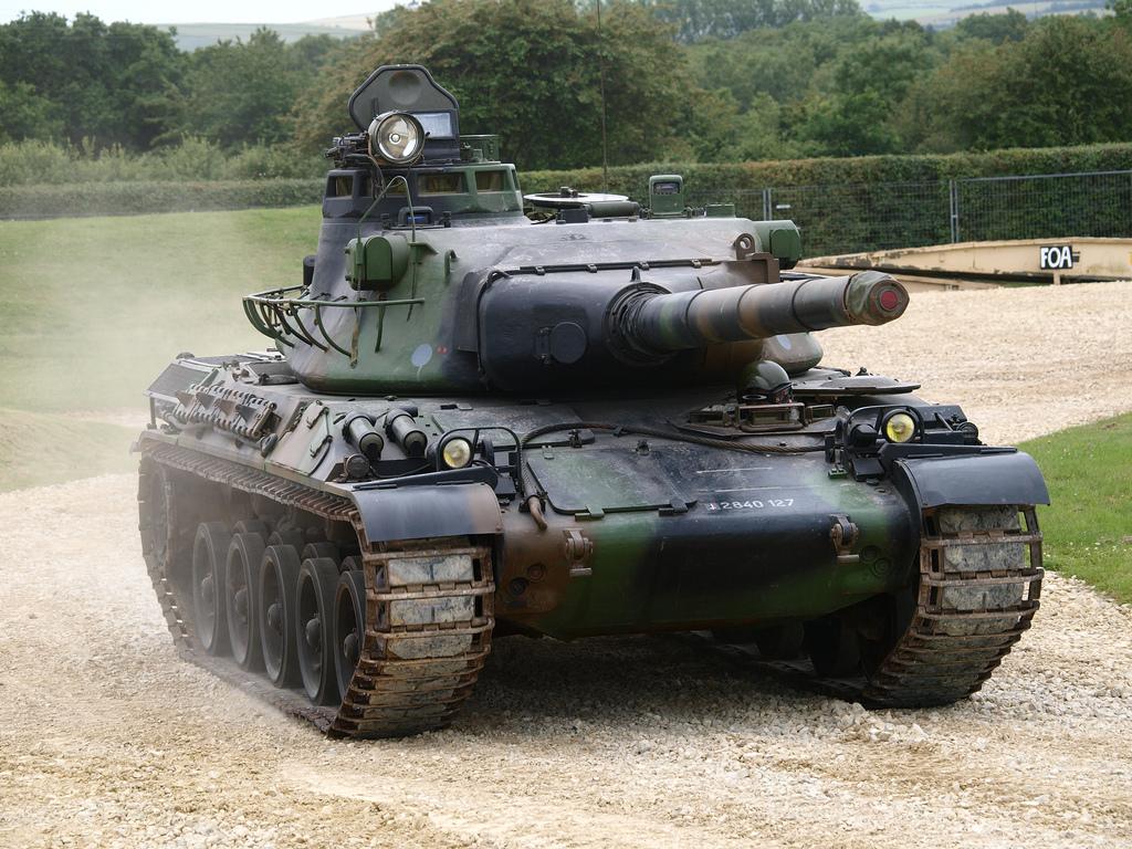 Prototype of AMX...B 52s