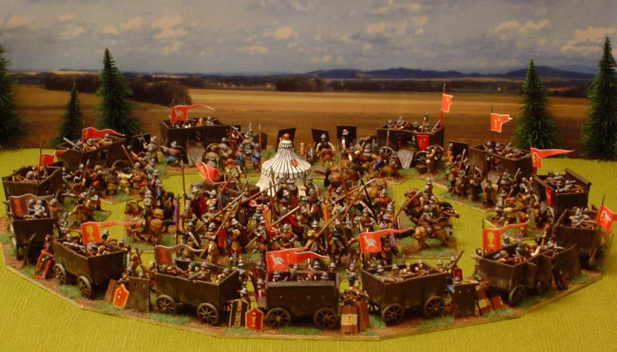 Wagon Fortress Weapons And Warfare