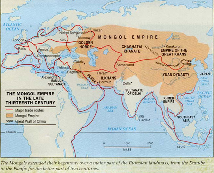 Pergelator: Mongols and The Plague