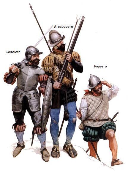 PAVIA soldados del tercio