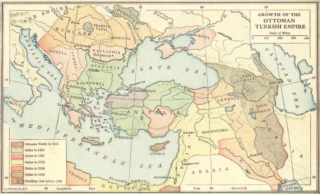 Ottoman advance towards byzantine 14th century weapons and warfare renaissance 1 gumiabroncs Gallery