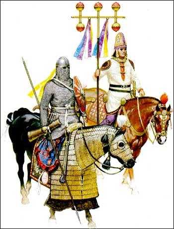 Sassanian cavalry - Angus Mc Bride