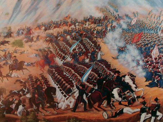 Image result for battle of maipu