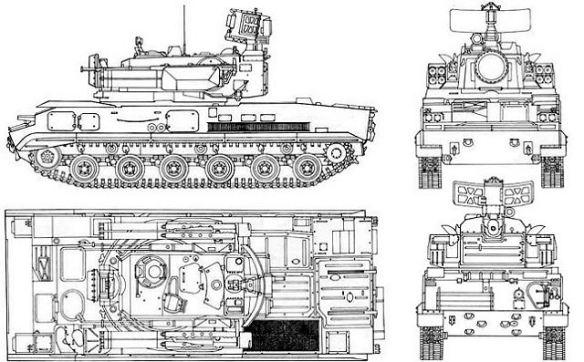 9k22 Tunguska Weapons And Warfare