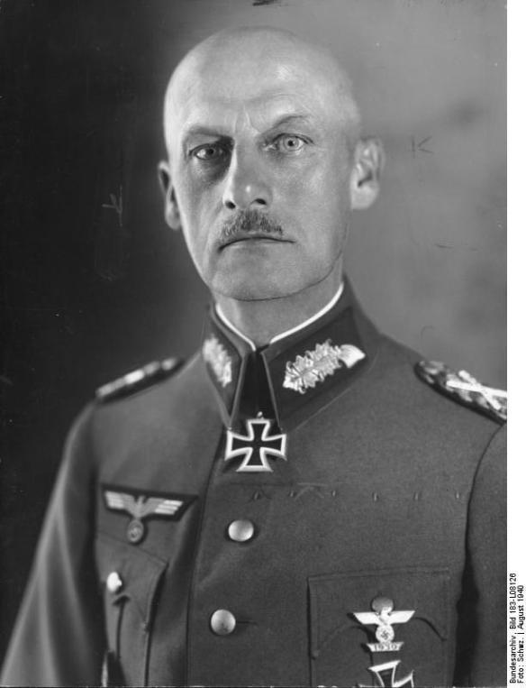 Generalfeldmarschall Ritter v. Leeb (15.8.1940)