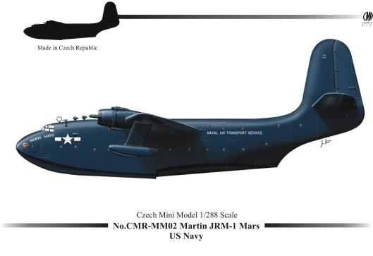 CMR-MM02 Martin JRM-1 MARS US NAVY_Box Art