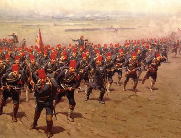 Ottoman-troops