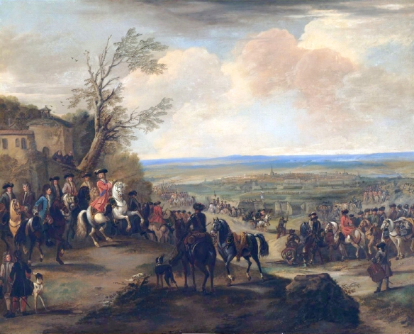 The Duke of Marlborough at the Battle of Oudenaarde (1708)