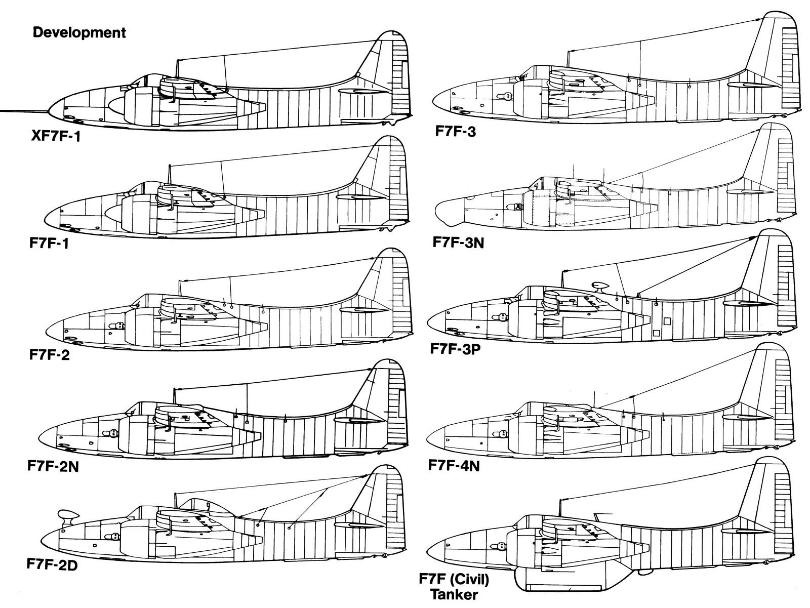 Grumman F7F Tigercat Weapons And Warfare