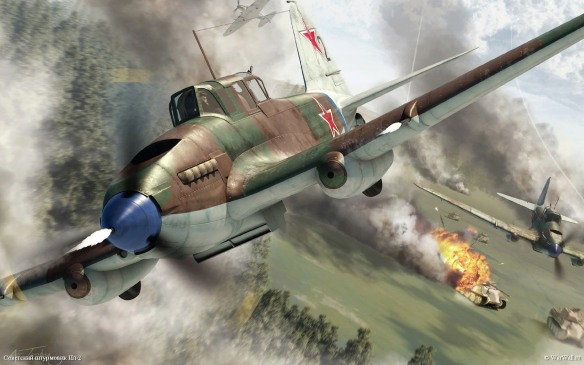 Wallpaper_2832_Airfix_02013_IL-2