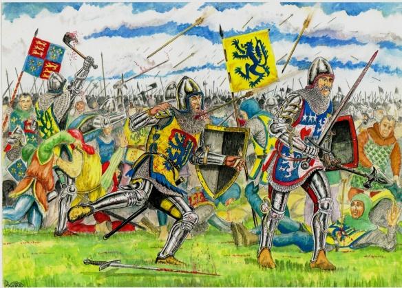 Battle of Shrewsbury 1403 Hotspur Percy killed beside Archibald 4 thEarl of Douglas