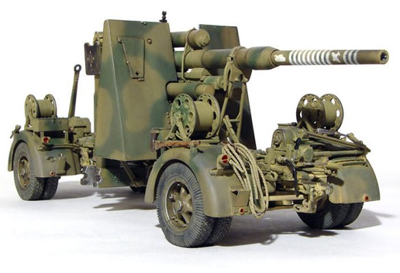 German 50 Mm Anti Tank Gun: Desert 8.8-cm –Terror Of British Armour