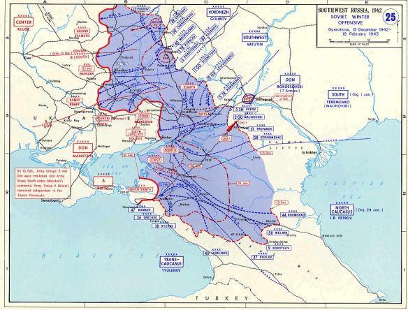 SovietWinterOffensive(13December1942-18February1943)