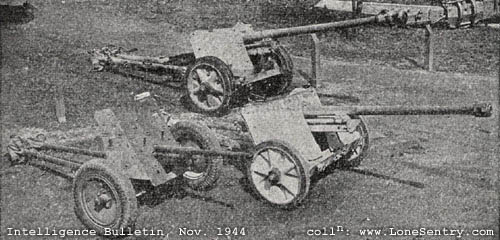 German 50 Mm Anti Tank Gun: 7.5 Cm PaK 40 Antitank Gun