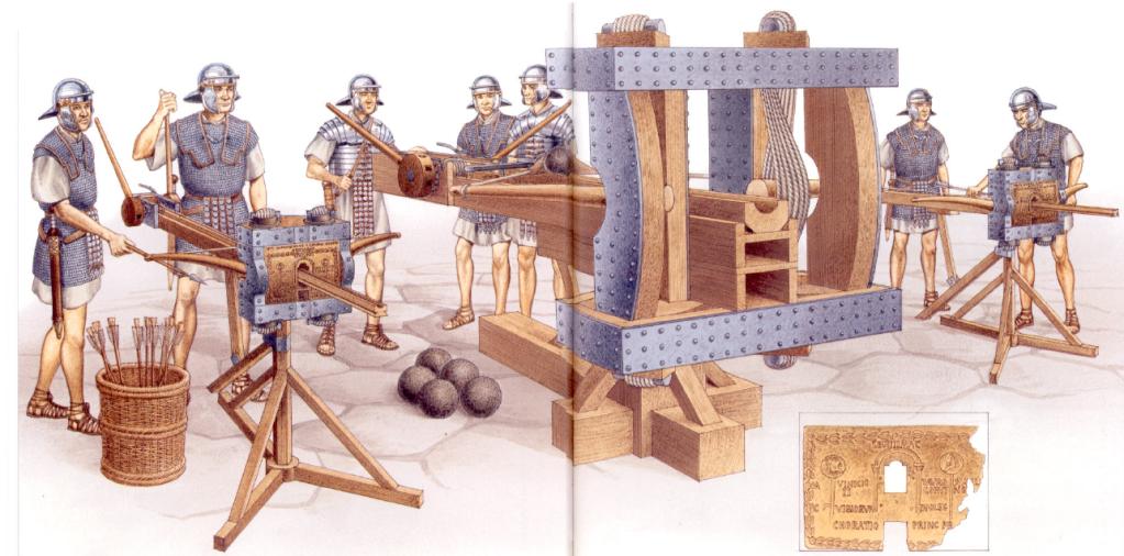 Roman Artillery II   Weapons and Warfare