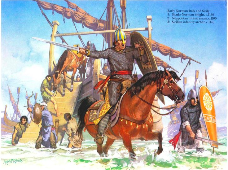 Image result for Norman conquest of Sicily