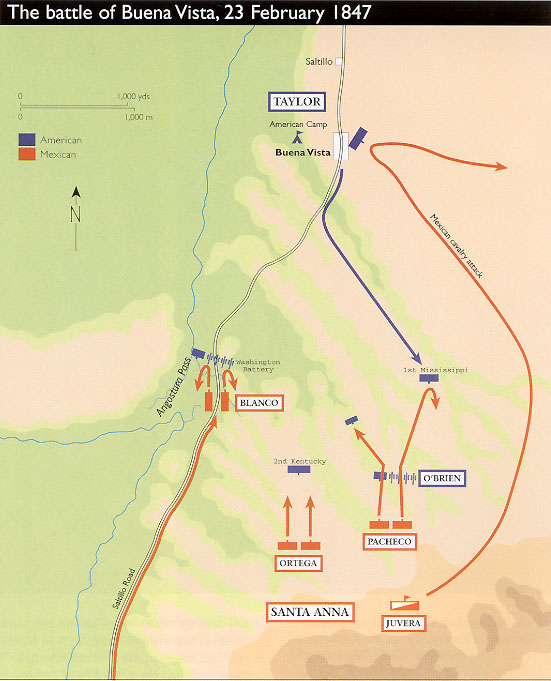 Battle of Buena Vista Weapons and Warfare