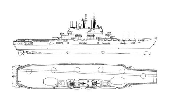 profilo portaerei garibaldi