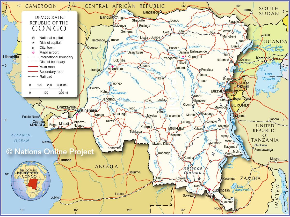 Modern Democratic Republic of Congo  Weapons and Warfare