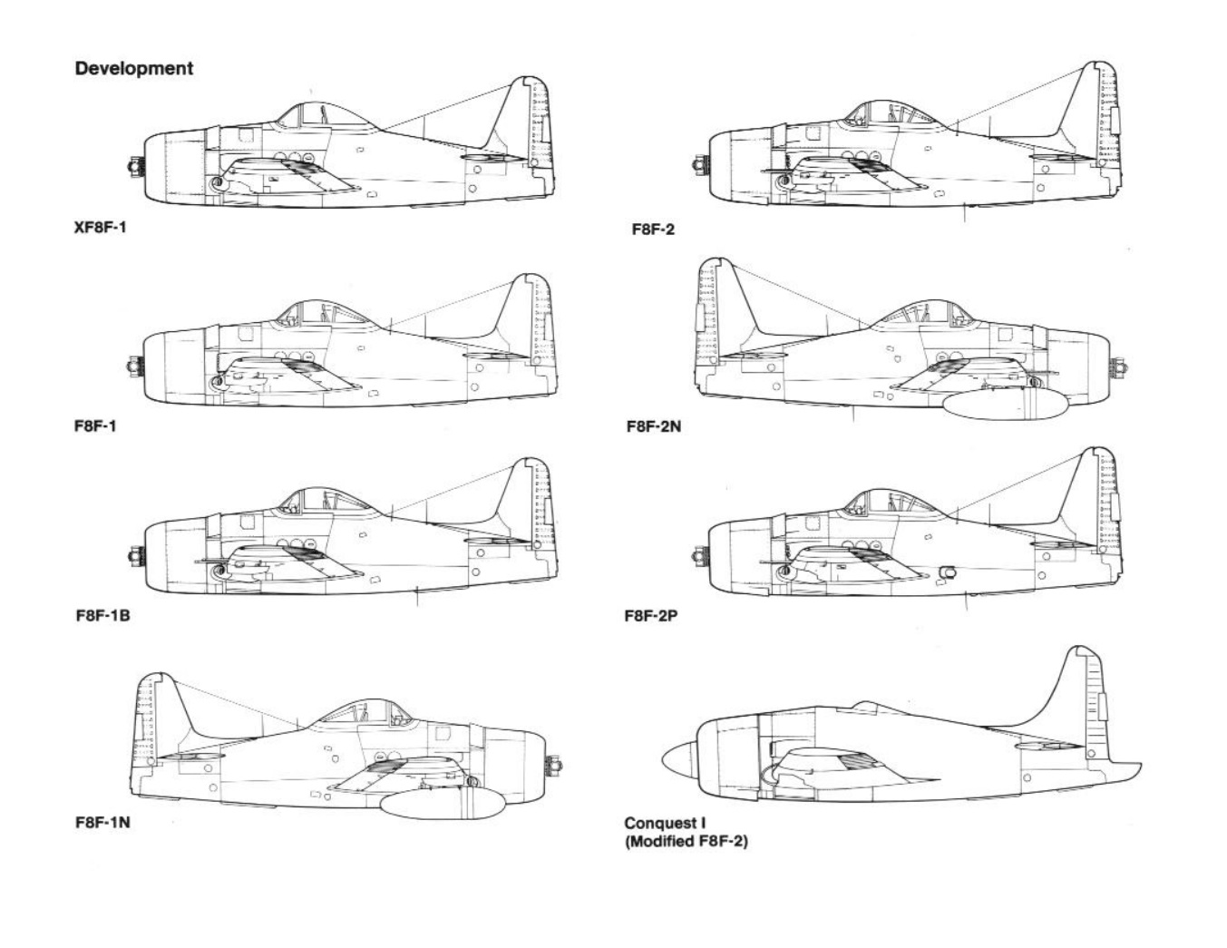 Grumman F8f Bearcat Weapons And Warfare Aircraft Piston Engine Diagram Last Of The Line Engined Carrier Based Fighters Which Initiated With Ff 1931 Was Designed To Be Capable
